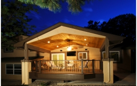 Covered Deck | J&J Construction, Inc. | Colorado Springs, CO