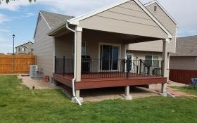 Covered Deck | J&J Construction, Inc. | Colorado Springs, CO