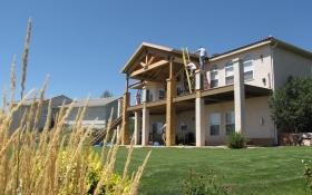 Luxury Deck | J&J Construction, Inc. | Colorado Springs, CO
