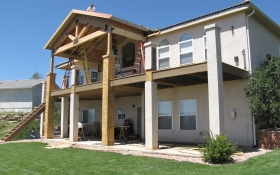 Luxury Deck | J&J Construction, Inc. | Colorado Springs, CO